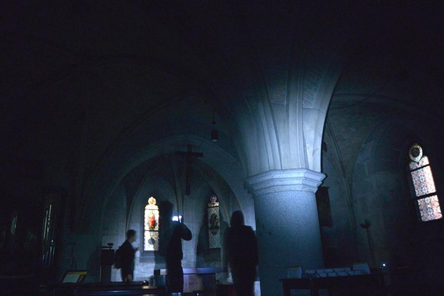Taschenlampenführung im Neuen Dom (c) Stern&Kringel
