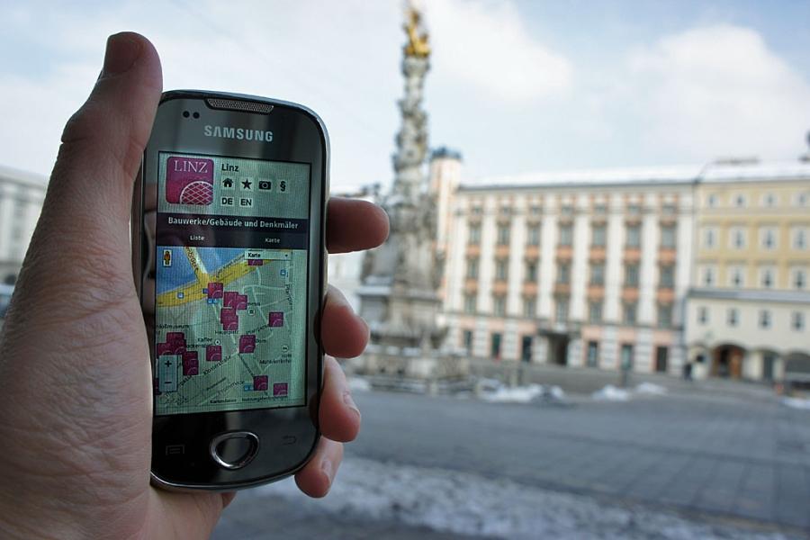 Linz App (c) Stern&Kringel