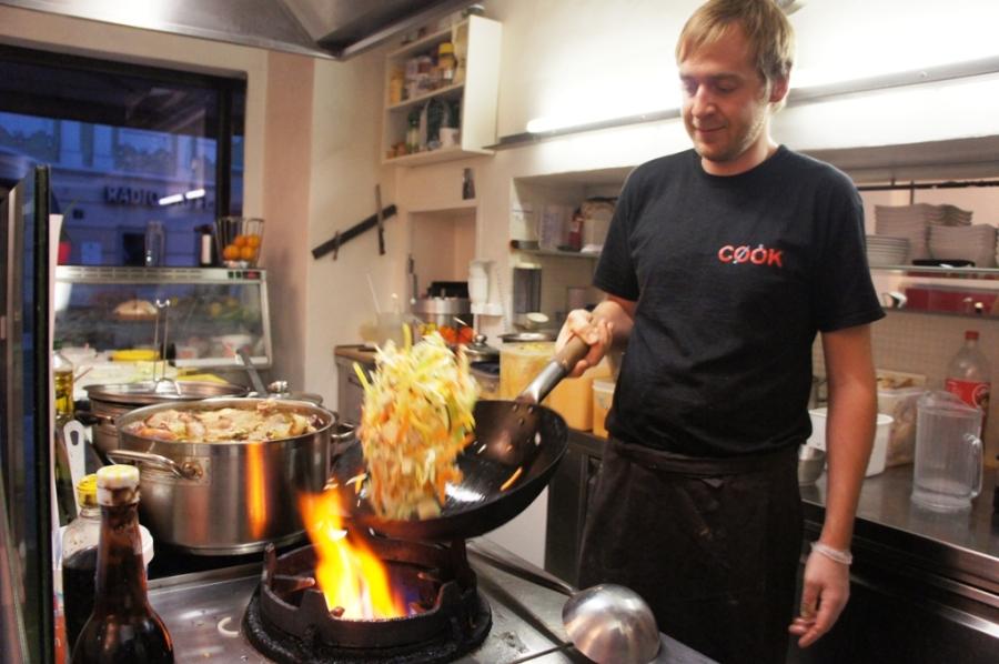 Cook - alle Speisen werden frisch zubereitet (c) Stern&Kringel