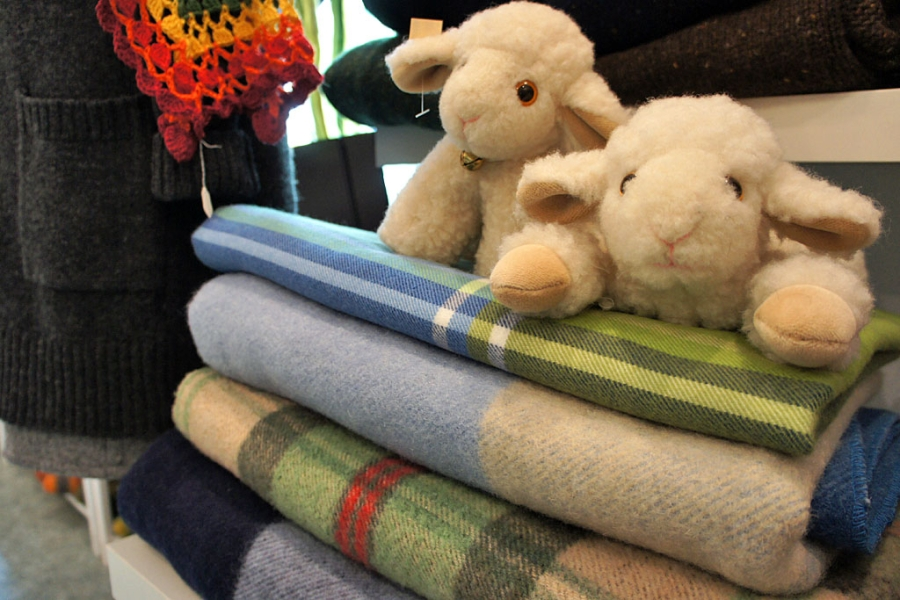 Atelier Vielfelt - Schafe der Wollwerkstatt (c) Stern&Kringel